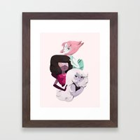 We'll Always Save The Day Framed Art Print