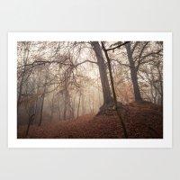 Autumn Fantasy : Mist An… Art Print