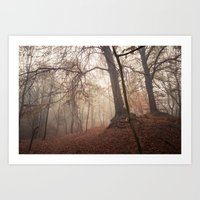 Autumn Fantasy : Mist and Mistery Art Print