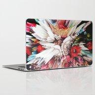 Floral Glitch II Laptop & iPad Skin