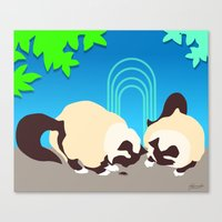 Crunch And Crumble Find … Canvas Print