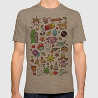 Everything is going to be OK #3 Mens Fitted Tee Tri-Coffee SMALL