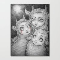 ...and She Had A Vision Canvas Print