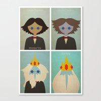 Minimalist Adventure Tim… Canvas Print