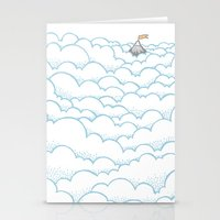 Peak Above The Clouds Stationery Cards