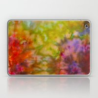 Burgundy and Olive Abstract Laptop & iPad Skin