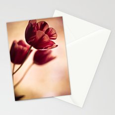 blown in the wind Stationery Cards