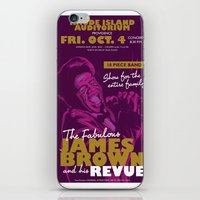 James Brown iPhone & iPod Skin
