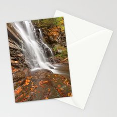 Autumn Ganoga Falls Stationery Cards