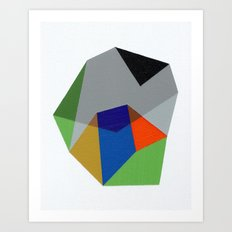 Abstract No. 6 Art Print