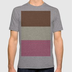 Neapolitan Flavors Mens Fitted Tee Athletic Grey SMALL