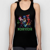 RonkyTonk Halloween Roll… Unisex Tank Top
