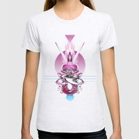 In Love (With Herself) Womens Fitted Tee Ash Grey SMALL