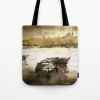Istanbul in yellow Tote Bag