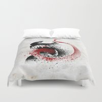 The Symbiote Duvet Cover