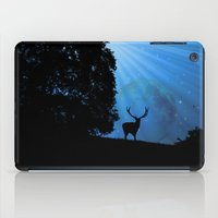 Moon & Deer - JUSTART © iPad Case
