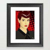 Sean Young Framed Art Print