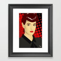 Sean Young Framed Art Print