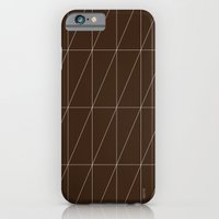 Brown Triangles By Frizt… iPhone 6 Slim Case