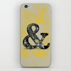 Ampersand Series - Baskerville Typeface iPhone & iPod Skin