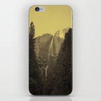 Yosemite Falls Tin Yello… iPhone & iPod Skin