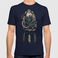 The Dream Catcher: Old Hag's Bane Mens Fitted Tee Navy SMALL