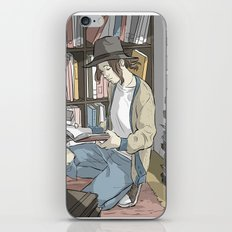 the reader iPhone & iPod Skin