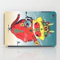 CATCRANEFISH iPad Case
