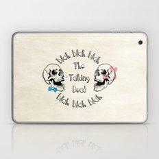 The Funny Talking Dead Skull Picture Laptop & iPad Skin