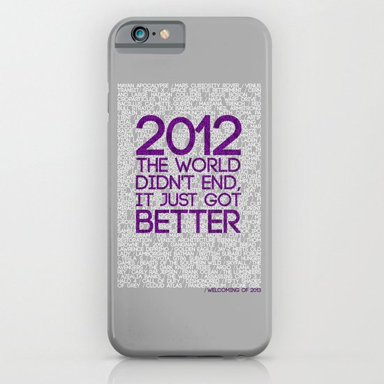 2012...It Was Emotional iPhone & iPod Case
