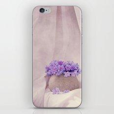 poeme de violet iPhone & iPod Skin