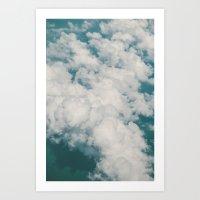 Clouds 2 Art Print
