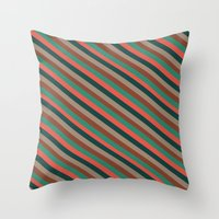Preppy Throw Pillow
