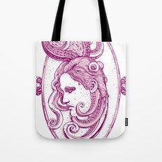 Octopus/girl in pink Tote Bag
