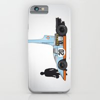Outline Series N.º4, Steve McQueen, Porsche 917, Le Mans movie 1971 iPhone 6 Slim Case