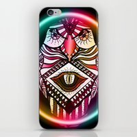 Night Hawk iPhone & iPod Skin