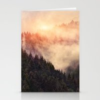 nebula Stationery Cards featuring In My Other World by Tordis Kayma