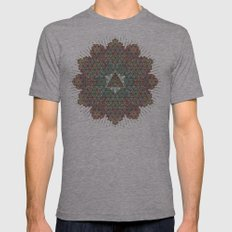 Our Origins. Mens Fitted Tee Athletic Grey SMALL