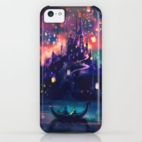 iPhone 5c Cases featuring The Lights by Alice X. Zhang