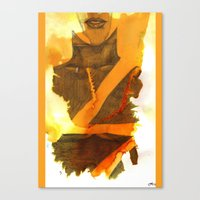 Ms Marvel Canvas Print