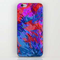 exploding coral iPhone & iPod Skin