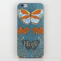 Butterfly Hope iPhone & iPod Skin
