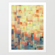 Cubism Dream (Brush Fire… Art Print