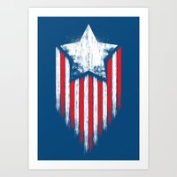 Star & Stripes Art Print