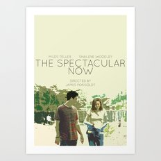The Spectacular Now Art Print