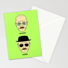 Walter White or Heisenberg? Stationery Cards