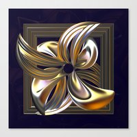 Gilded Lily Canvas Print