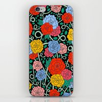 FLOWERS FROM THE SOUTH iPhone & iPod Skin