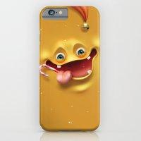 iPhone & iPod Case featuring Christmas mad face by Sasha Vinogradova