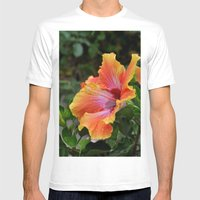 Pink Grapefruit Mens Fitted Tee White SMALL